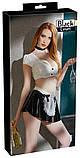 Лаковий костюм Офіціантка (S), фото 3