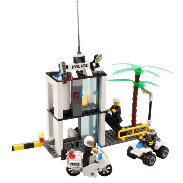 Конструктор Kazi 6728 Полицейский участок Лего lego city