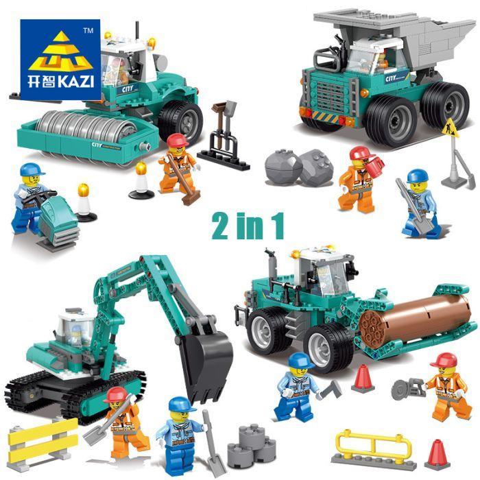 Конструктор Kazi 80453-80456 2в1 Lego city