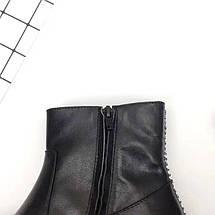 Женские ботинки Marni из натуральной кожи с фирменным замочком., фото 2