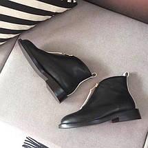 Женские ботинки Marni из натуральной кожи с фирменным замочком., фото 3