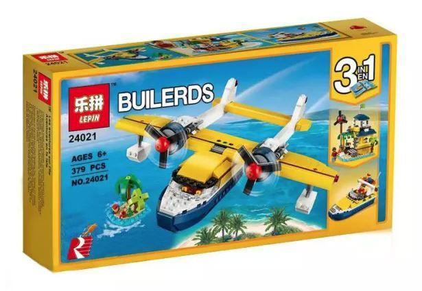 Lepin 24021 Приключения на островах lego Creator лего 31064 3 в 1