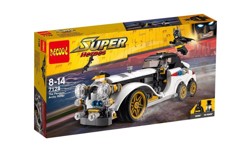 Аналог Lego 70911 Decool 7128 Арктический лимузин Пингвина Лего Бэтмен