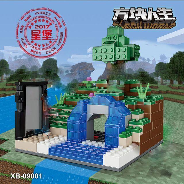 Конструктор Minecraft Таинственная подводная пещера XB-09001 Lego Лего