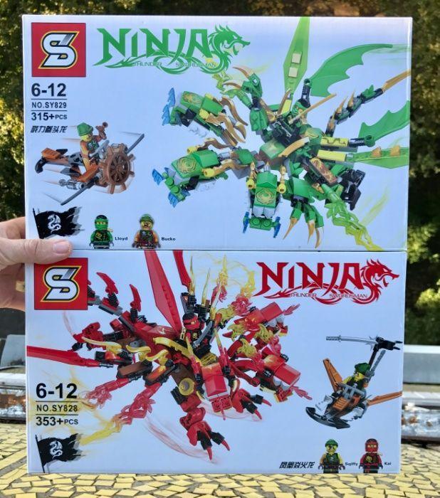 Конструктор ниндзяго Лего Lego Ninjago Конструктор SY828 , SY829