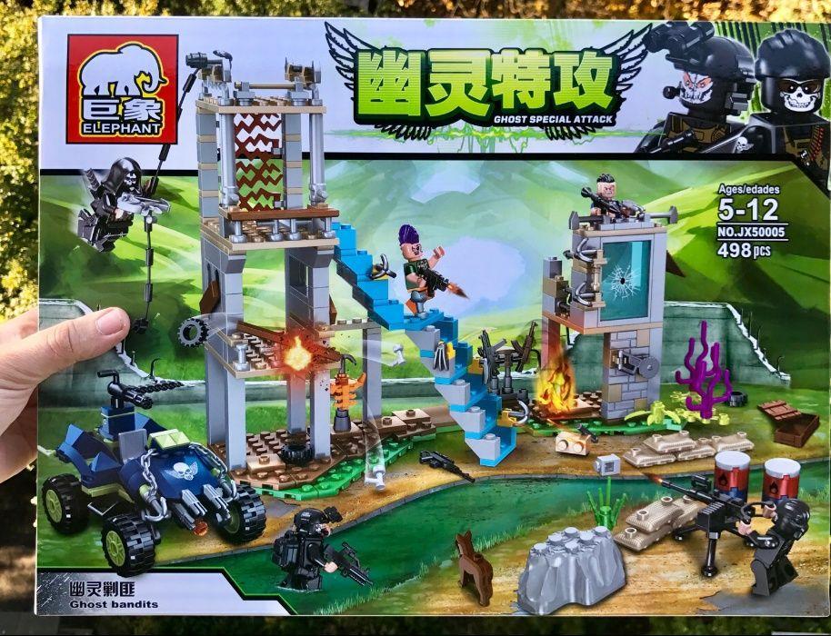 Конструктор аналог Lego лего swat военные спецназ армия НАБУ JX50005