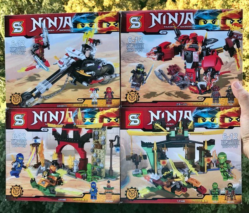 Конструктор Ниндзя Ninjago Ниндзяго Лего Lego SY822 a,b,c,d