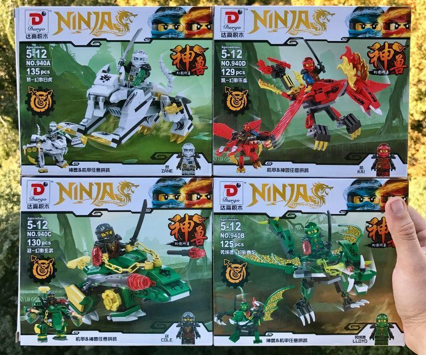 Конструктор Dargo 940 Ninjago Ниндзяго Лего Lego