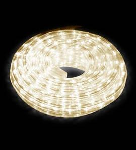 Новогодняя светодиодная гирлянда-лента 10 м, желтая(ДиодЛента_лента10-желт)