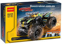 "Конструктор Decool 3416 ""Квадроцикл"" 148 деталей. Аналог Lego Technic  42034, фото 1"
