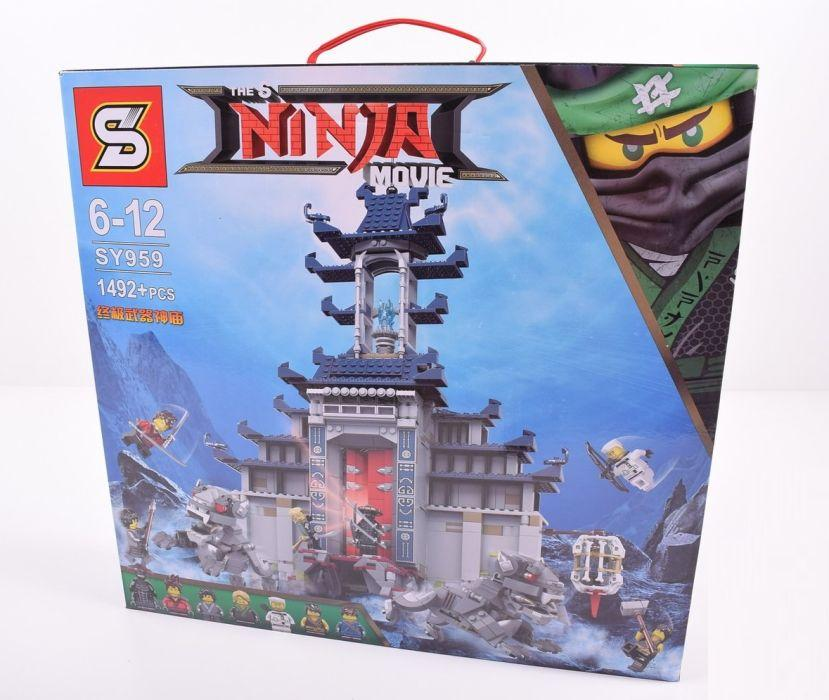 Конструктор ниндзяго SY959 Храм Последнего великого оружия лего Lego