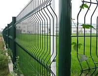 Еврозабор секция ограждения «с изгибом» 2,5м