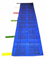9040374 Тибетские флажки ЛУНГ-ТА вертикальные 1 флаг Синий