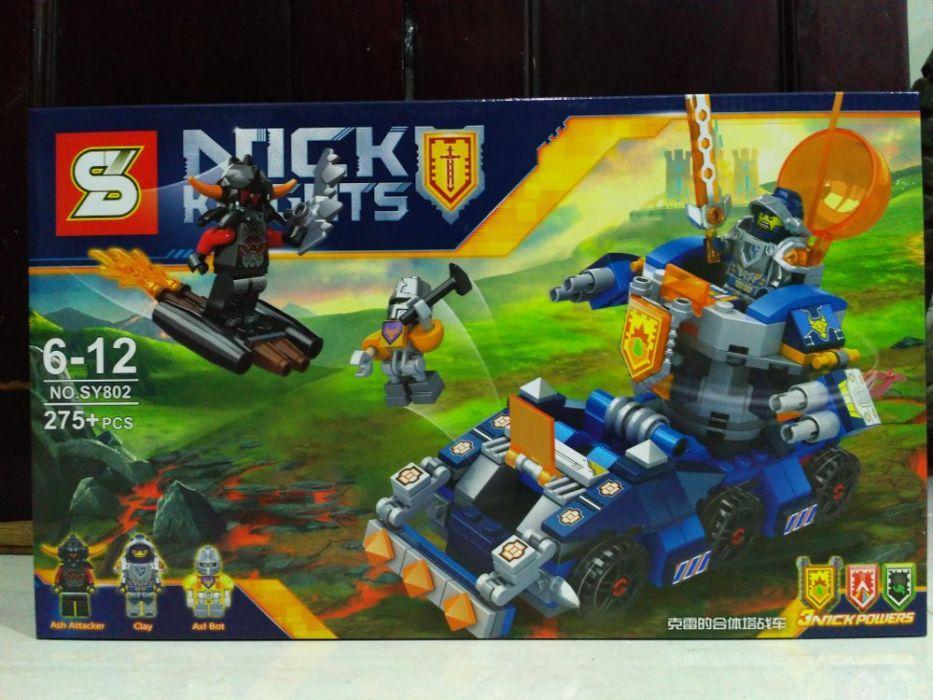 Конструктор нексо найтс nexo knights lego лего SY802 тягач Акселя