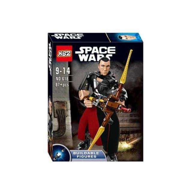 Конструктор KSZ 618 Звездные Войны LEGO Star Wars 75524) Чиррут Имве