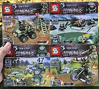 Фигурки Водолаз,Водитель квадроцикла ,мотоциклист,swat спецназ военные солдаты лего Lego BrickArms