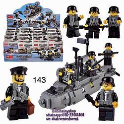 Минифигурки SWAT спецназ военнослужащие армия лего lego BrickArms