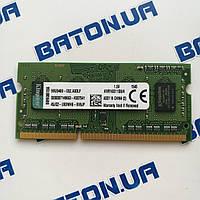 NEW Оперативная память для ноутбука Kingston SODIMM DDR3 4Gb 1600MHz 12800s CL11 (KVR16S11S8/4)