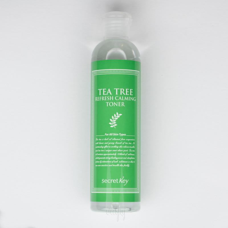 Успокаивающий тонер для лица с зеленым чаем Secret Key Tea Tree Refresh Calming Toner 248 мл (8809305991530)