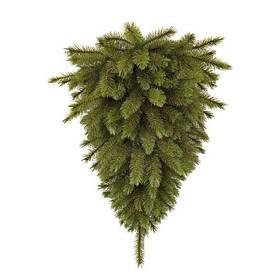 "Сосна 90 см ""Перевернутая"" Forest frosted Зеленая (Time Eco TM)"