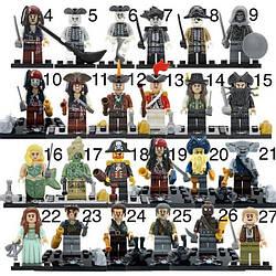 Лего Пираты карибского моря (Lego Pirates of the Caribbean)