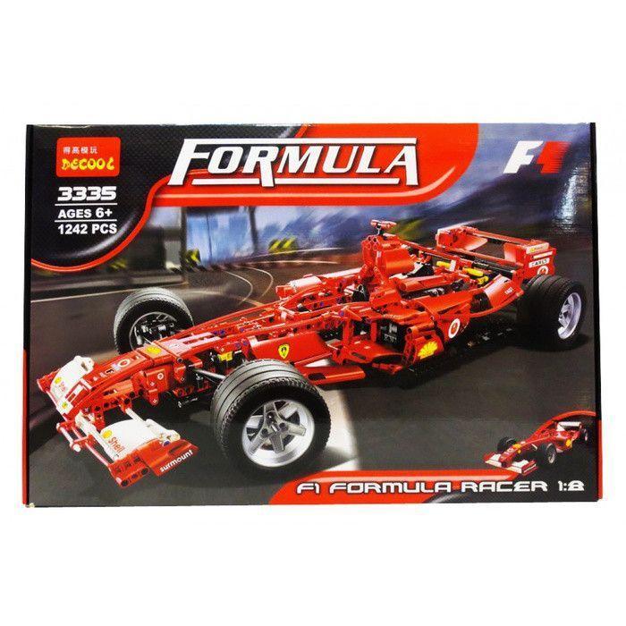 Конструктор Decool 3335 аналог Lego Technic 8157, Formula 1