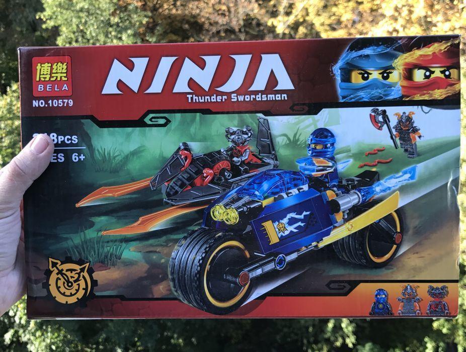 Конструктор Bela Ninja 10579 аналг Lego Ninjago 70622 Пустынная молния ниндзяго