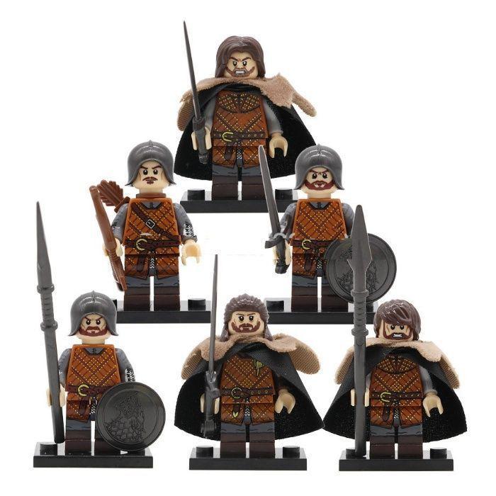 Великолепные мини-фигурки Лего lego игра престолов game of thrones