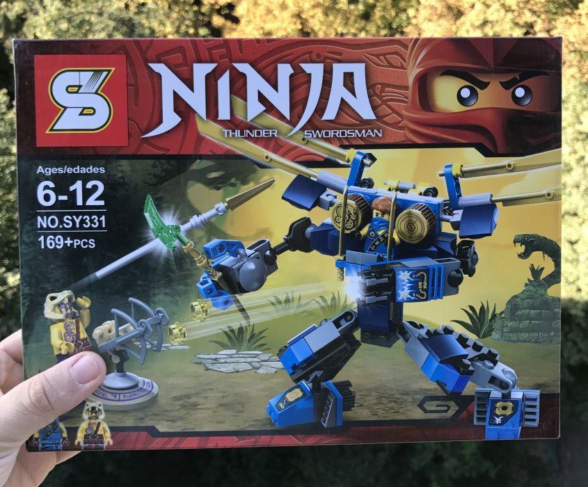 "Конструктор Ninjago ""Летающий робот Джея"" SY 331 10317 70754 Lego ниндзяго"