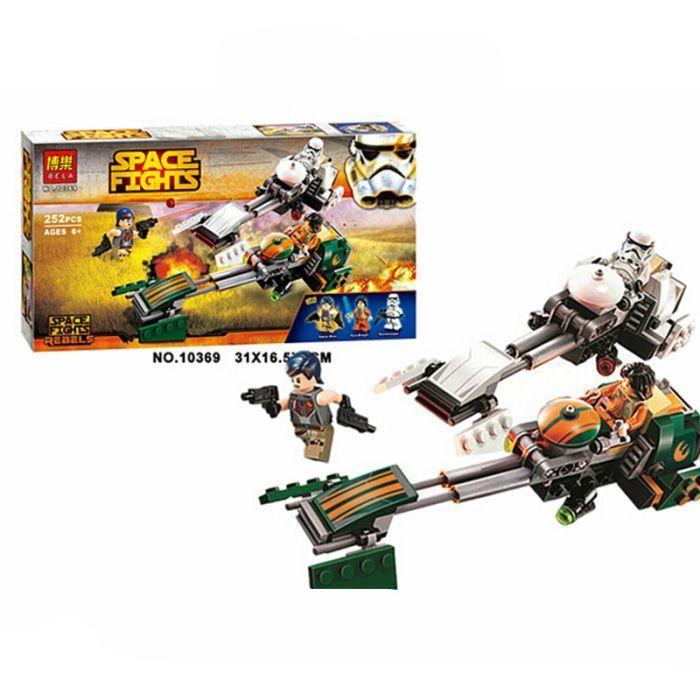 Bela 10369 LEGO Star Wars 75090 Скоростной Спидер Эзры Конструктор Звездные войны Звездные войны