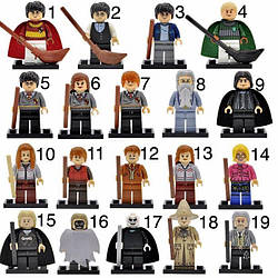 Новые фигурки Лего Lego Гарри Поттер Harry Potter брелок