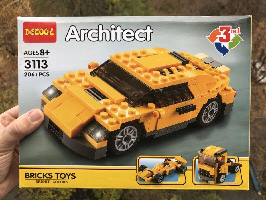 "Конструктор Decool 3113 (аналог Lego Technik) Architect ""3 в 1"""