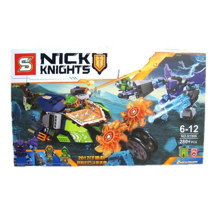 "SY866 Nexo Knight Lego 70358 ""Слайсер Аарона"" нексо найтс Конструктор"