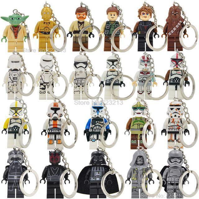 Брелок Star Wars звездные войны минифигурки Лего Lego