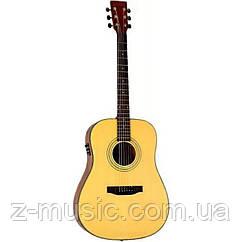 Электроакустическая гитара Rafaga D-100 NS