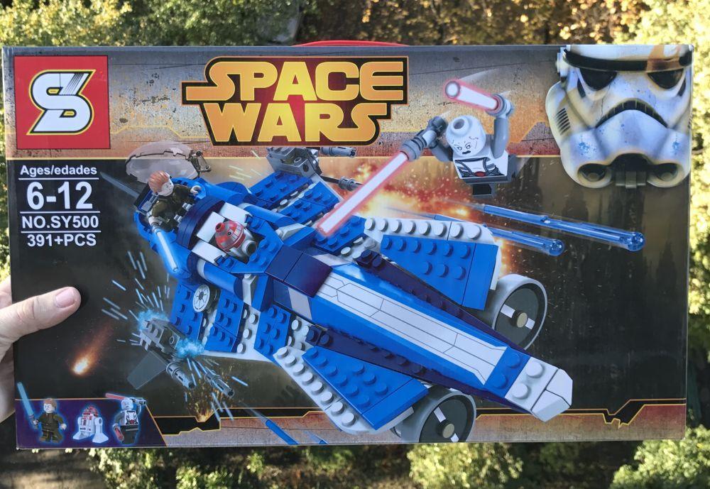 Конструктор SY500 Star Wars LEGO 75087 Джедайский истребитель Энакина Звездные войны