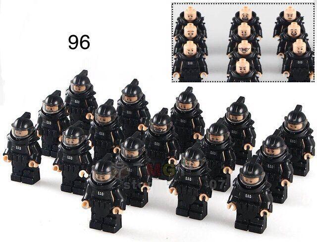 Фигурка сапера защитный костюм SWAT спецназ военные Lego Лего