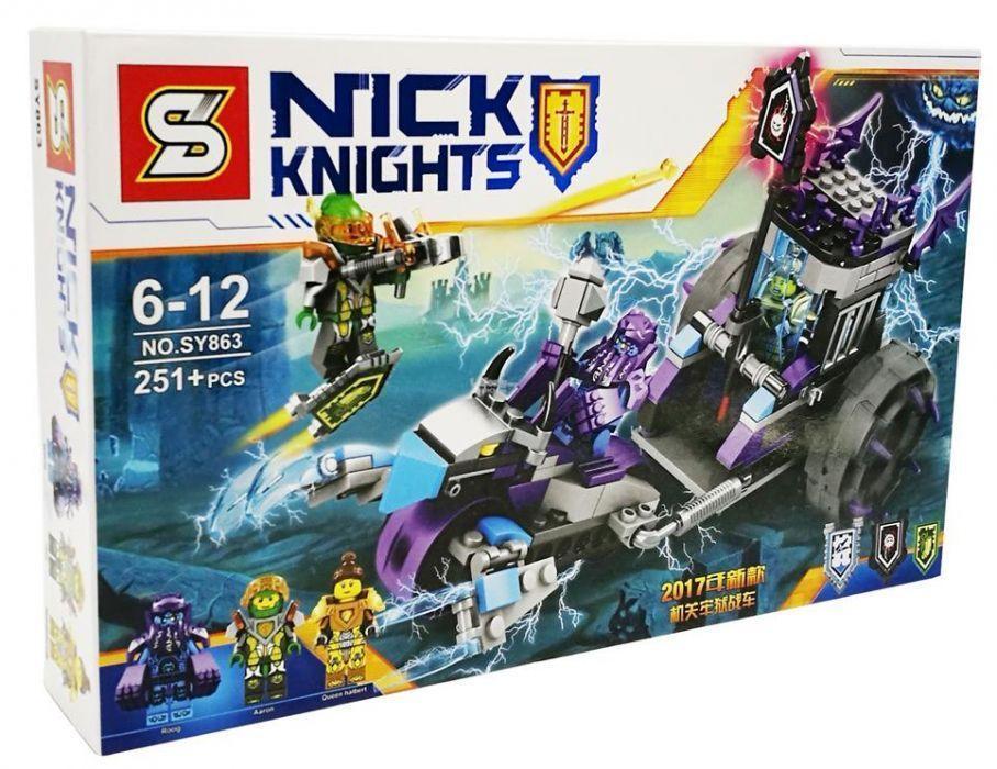 Мобильная тюрьма Руины нексо Конструктор SY863 Nexo Knight Lego 70349