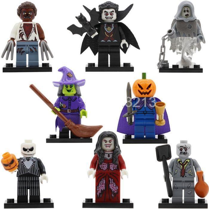 Фигурки хэллоуин Halloween лего Lego