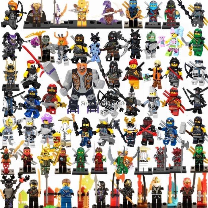 Акция Новые Минифигурки ниндзяго ninjago Лего Lego Гармадон брелок фигурки дяпчики