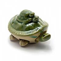 Черепашка керамическая (шевелит лапками) (7х3,5х5 см) ( 24194)