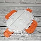 Ланч-бокс электрический с подогревом от сети 220 В. Электрический ланчбокс, фото 10