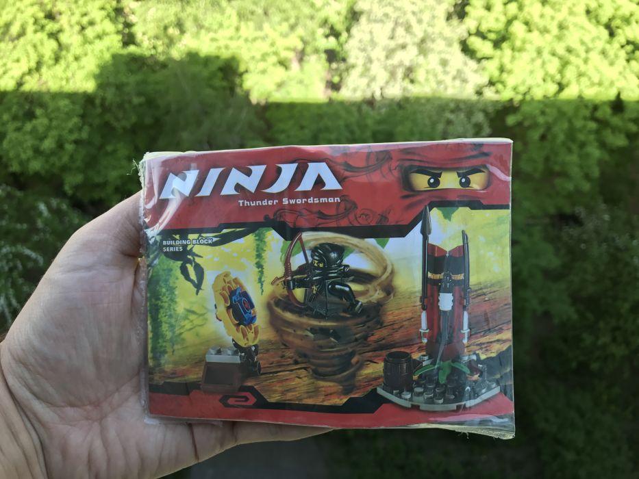 Востановленный набор Ниндзя-го лего Lego Ninjago ниндзяго 9726 bela