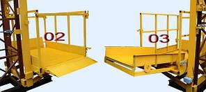 Строительный подъемник мачтовый секционный ПМГ г/п-1000.  Подъёмники мачтовые строительные на 1 тонну. Н-75 м, фото 3