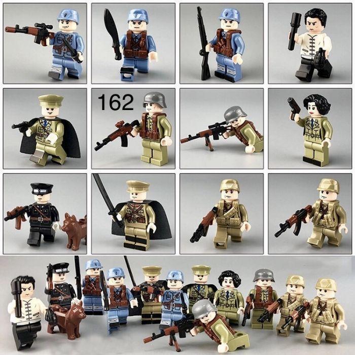Мини-фигурки swat спецназ военнослужащие солдаты Лего lego BrickArms