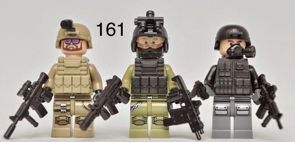 Мини-фигурки swat спецназовцы военные солдаты Лего lego BrickArms