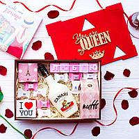 """Подарочный набор """"Моя Королева"""". Оригинальный подарок на День Рождения жене, девушке, женщине, маме, подруге."""