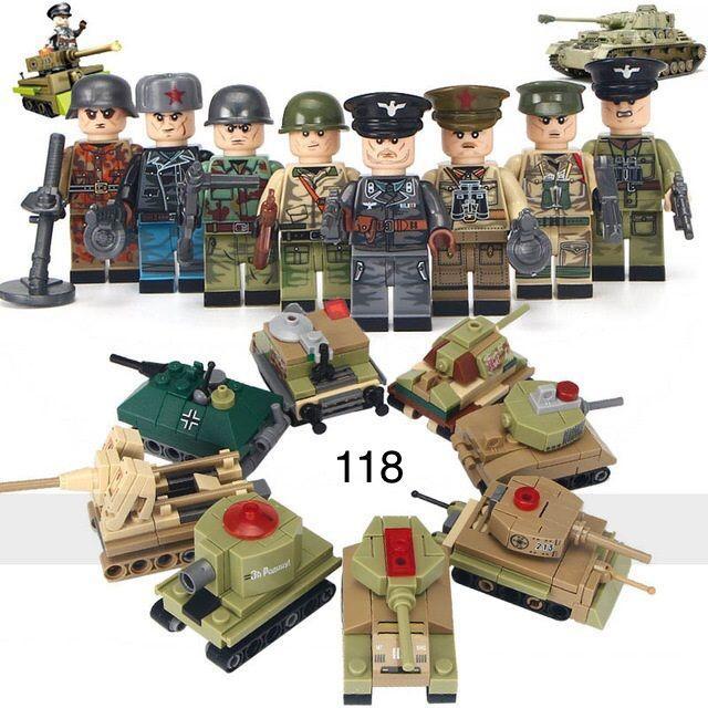 Фигурки СССР swat советские военные спецназ армия лего Lego BrickArms