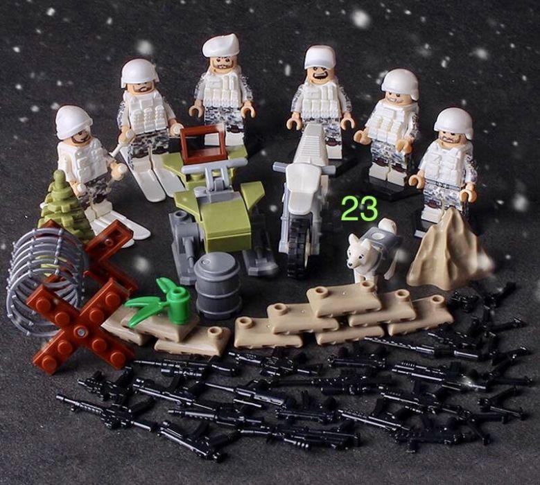 Фигурки СССР советские военные спецназ солдаты лего Lego BrickArms