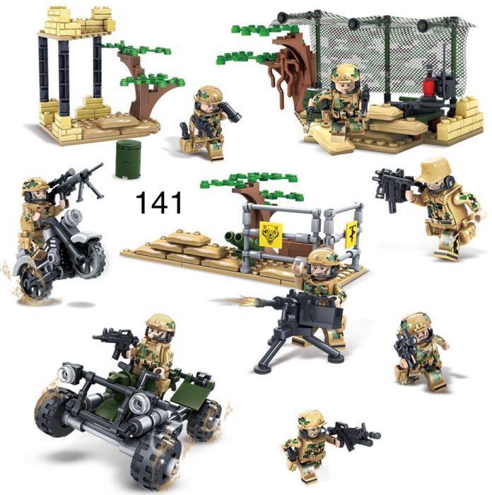 Минифигурки swat спецназ военнослужащие солдаты лего lego BrickArms